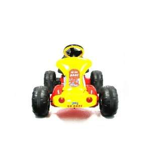 Red Baron Go Kart Pedal Car Pedal Ride on Toys & Games