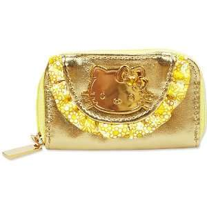 [Hello Kitty] seal case Gold Star Gold Happy happy hunch