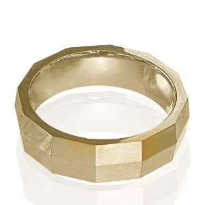 Tungsten Ring Rose Gold Plated. Size 8 Jewelry