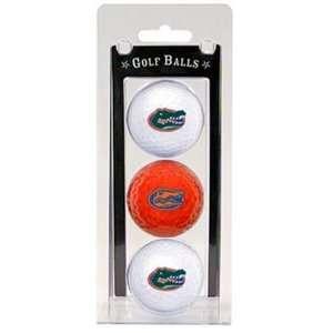 University Florida Gators 3pk Pack Golf Balls New