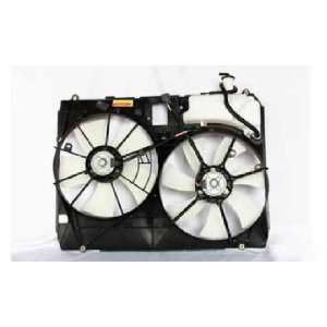 RADIATOR AIR CONDITIONING FAN MODELS WITHOUT TOWING PACKAGE