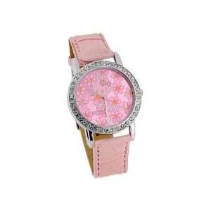 Hello Kitty Electronic Girls Kids Wrist Watch Pink
