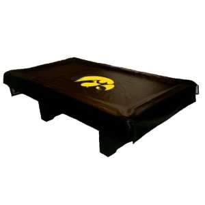 Iowa Hawkeyes Universal Fit Billiard Table Cover Sports