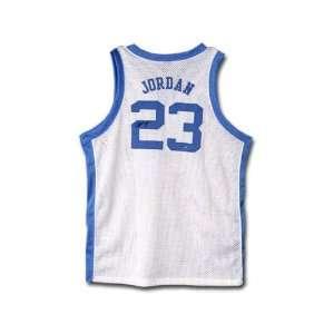 Michael Jordan North Carolina Tar Heels Autographed White