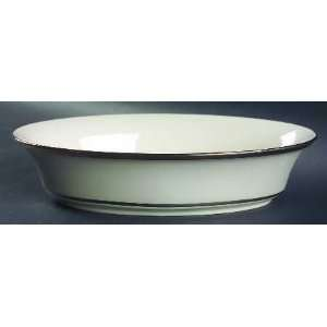 Lenox China Ivory Frost 10 Oval Vegetable Bowl, Fine China Dinnerware