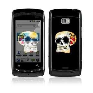 Skull Decorative Skin Cover Decal Sticker for LG Ally VS740