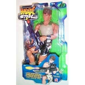 Max Steel  Blaster w/ Figure Toys & Games
