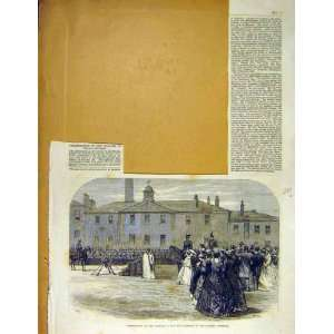 Colours 39Th Regiment Salford Barracks Military 1866