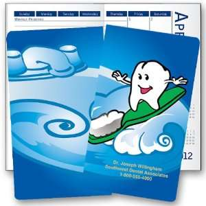 Dental Wave Monthly Calendar   Min Quantity of 50 Office Products