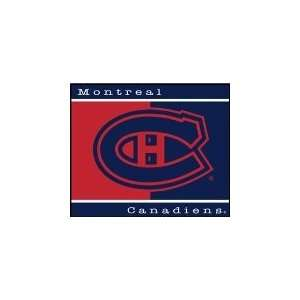 NHL Hockey Montreal Canadiens 60X50 All Star Blanket/Throw   Fan Shop