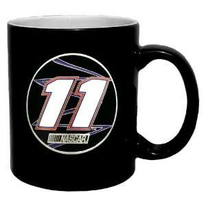 Denny Hamlin NASCAR 2 Tone Coffee Mug Sports & Outdoors
