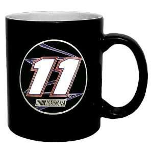 Denny Hamlin NASCAR 2 Tone Coffee Mug Sports & Outdoors