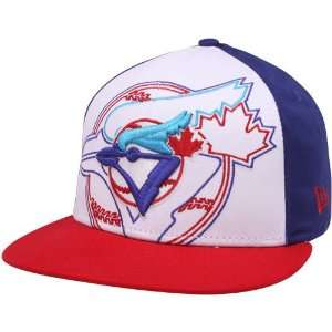 New Era Toronto Blue Jays Red White Royal Blue Little Big
