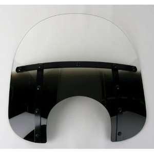 Fats Windshield (9in. Cutout)   Night Shades Black MEB3521 Automotive