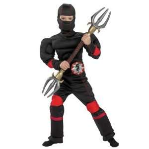 Speed Ninja Muscle Torso Child Costume (Small) Toys