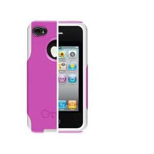 OtterBox Commuter Case (Hot Pink/White) for Apple iPhone 4