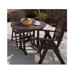 Recycled Plastic Bistro Patio Dining Set Patio, Lawn & Garden