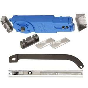 Overhead Concealed Closer With P Offset Slide Arm Hardware Package