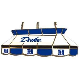 Duke Blue Devils Stained Glass Pool Table Light