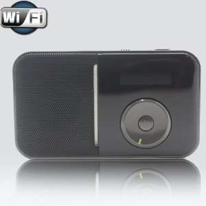 Portable Wireless Wi Fi Internet Radio Player with FM