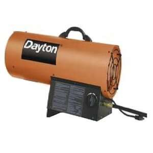 Dayton E58 Portable Liquid Propane Fueled Heater for Up to