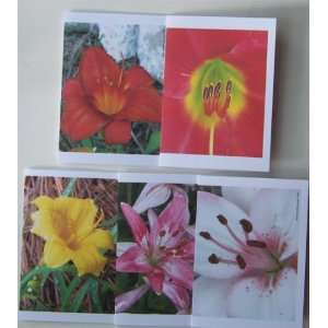 Flower Power Note card and Envelope Set