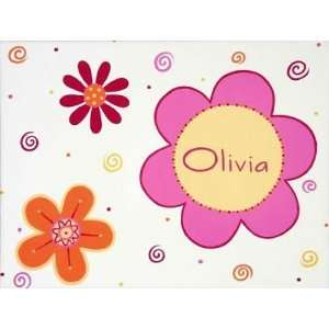 Flower Power Canvas Reproduction