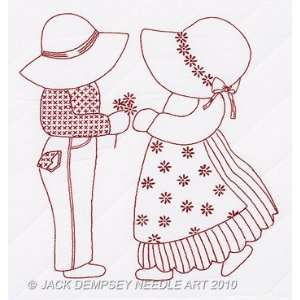 Sue & Sam Quilt Blocks   Embroidery Kit Arts, Crafts