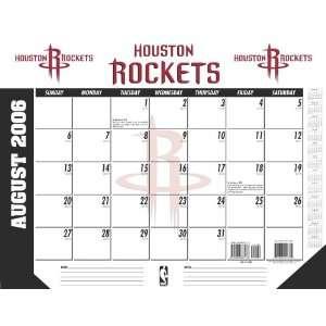 Houston Rockets NBA 2006 2007 Academic/School Desk