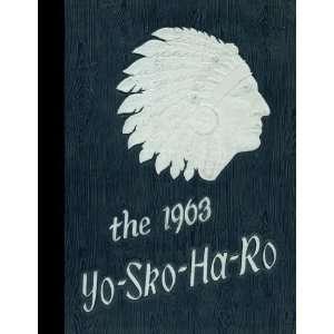 (Reprint) 1963 Yearbook Schoharie High School, Schoharie