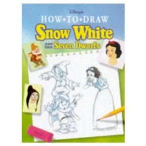 How to Draw Snow White and the Seven Dwarfs Walt Disney Books