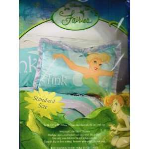 Disney Fairies Tinkerbell Standard Pillow Sham Home
