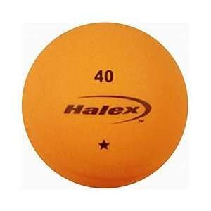 Tsunami 1 Star Table Tennis Balls   6 Pack   Orange