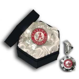 Alabama Crimson Tide Glass Diamond