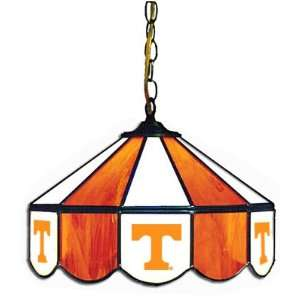 Tennessee Volunteers 14 Stained Glass Hanging Lamp