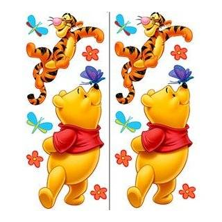 Pooh & Friends Peel & Stick Nursery Kids Room Wall Art Sticker Decals