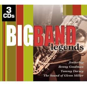 Band Legends Various Artists, Glenn Miller, Benny Goodman, Tommy