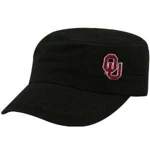 Top of the World Oklahoma Sooners Black Cadet Adjustable Hat
