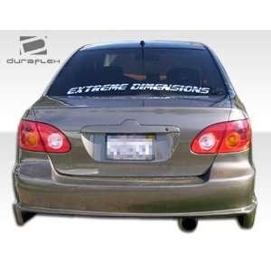 2008 Toyota Corolla Duraflex Drifter Rear Bumper   Duraflex Body Kits