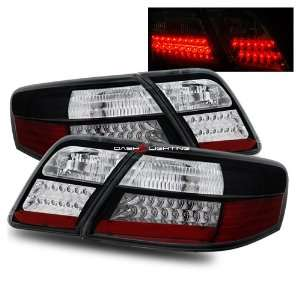 07 10 Toyota Camry LED Tail Lights   Black Automotive