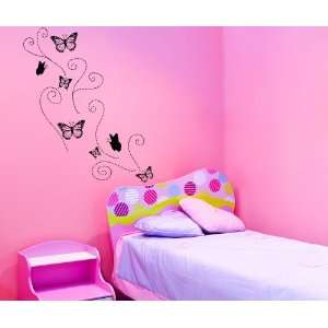 Vinyl Wall Decal Sticker Butterflies OS_DC107s