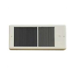 Low Profile 208v Fan Forced Wall Heater w/o Wall Box Color
