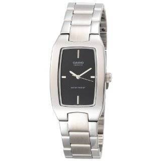 Silver Stainless Steel Quartz Watch with Silver Dial Casio Watches