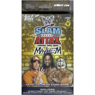 Topps WWE Slam Attax Wrestling Trading Card Game Mayhem