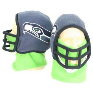 Seattle Seahawks Football Helmet Winter Knit Hat (With