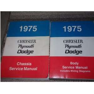 manual which includes the wiring diagrams manual.) chrysler Books