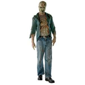 Walking Dead Decomposed Zombie Deluxe Costume: Toys & Games