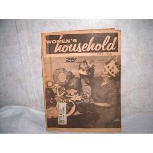 Womens Household Magazine OCTOBER 1966 HATS, HATS EVERYWHERE Edward