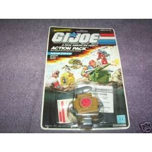 GI JOE ACTION PACK RADAR STATION 1987 Everything Else