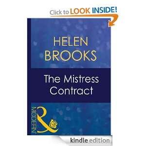 he Misress Conrac Helen Brooks  Kindle Sore